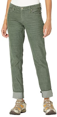 Carve Designs Carson Cord (Hunter) Women's Casual Pants