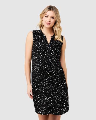 Ripe Maternity Women's Shirt Dresses - Felicity Shirt Dress - Size One Size, XS at The Iconic