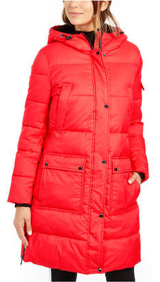 Calvin Klein Oversized Hooded Puffer Coat