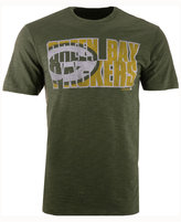 '47 Men's Green Bay Packers Wordmark Scrum T-Shirt
