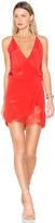 Michelle Mason x REVOLVE Wrap Mini Dress