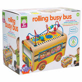 Alex Jr Rolling Busy Bus Interactive Toy