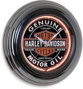Harley-Davidson Oil Can Neon Clock