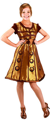 Elope Women's Costume Outfits - Doctor Who Gold Dalek Costume Set - Women