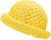 Cloche Boardwalk Style Women's Cloches Yellow - Yellow Straw