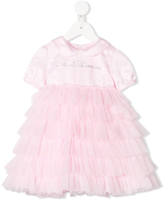 Miss Blumarine Ruffled Tutu Dress