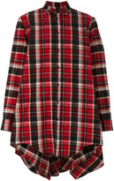 DSQUARED2 checked cape shirt