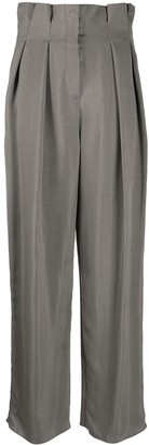 Emporio Armani High-Rise Paperbag Trousers