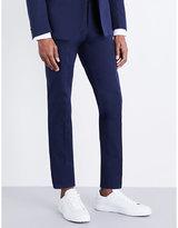Pal Zileri Regular-fit Tapered Cotton-poplin Trousers
