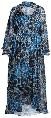 Marina Rinaldi Long Printed Dress