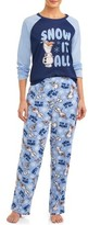 Disney Matching Family Pajamas Disney's Frozen 2 Women's and Women's Plus 2-Piece Sleep Set