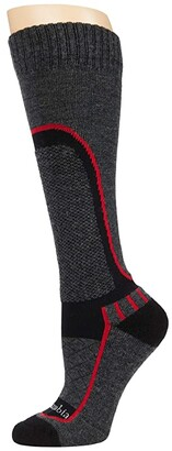 Columbia Ski - Ski Slope Over the Calf 1-Pack (Black 1) Crew Cut Socks Shoes