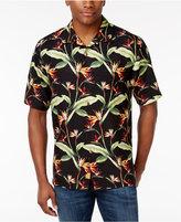 Tommy Bahama Men's Porto De Paradise Foliage Print Silk Shirt