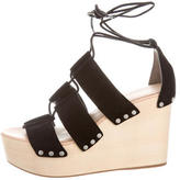Loeffler Randall Ines Lace-Up Wedges