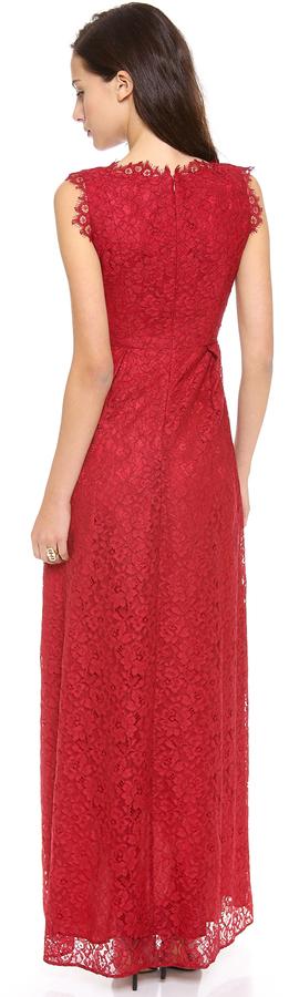 Shoshanna Lace Sierra Gown