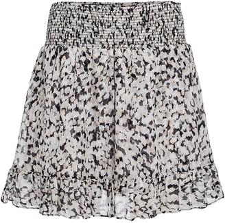 Intermix Rena Silk Chiffon Mini Skirt
