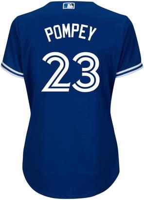 Majestic Dalton Pompey Toronto Blue Jays MLB Cool Base Replica Away Jersey Tee