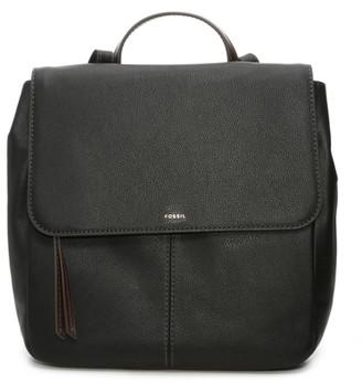 Fossil Kara Leather Backpack