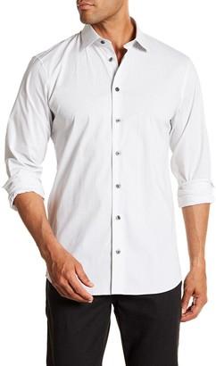 14th & Union Arrow Print Trim Fit Shirt