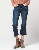 INDIGO REIN Flare Crop Womens Jeans