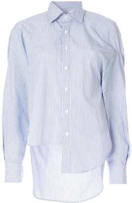 Enfold Fused Striped Shirt