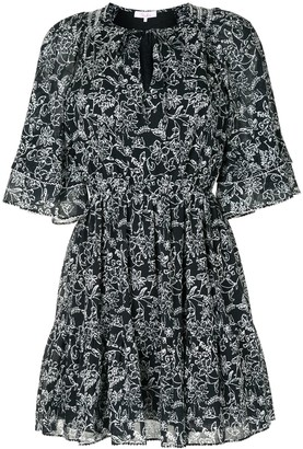 Parker Cotton Floral Pattern Dress
