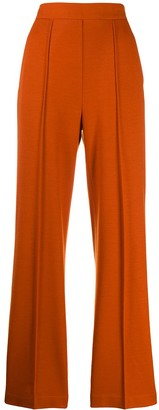 Harris Wharf London flared style trousers