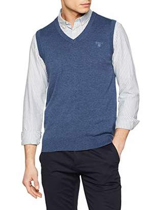 Gant Men's Lt Weight Cotton Slipover Jumper,XL