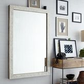 west elm Parsons Large Wall Mirror - Bone Inlay