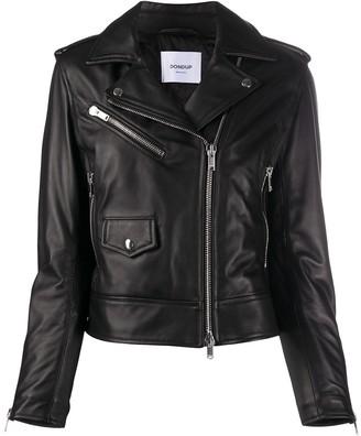Dondup Zipped Biker Jacket