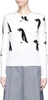 Thom Browne Penguin intarsia cashmere sweater