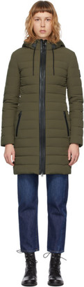 Mackage SSENSE Exclusive Khaki Down Calna Coat