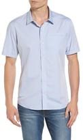 7 Diamonds Men's Stripe Woven Shirt