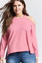 Forever 21 Plus Size Open-Shoulder Sweater