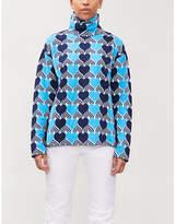 Moncler GENIUS Heart-print knitted jumper
