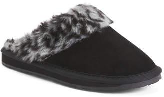 Selma Faux Fur Scuff Slippers