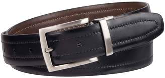 Kenneth Cole Reaction Feather Edge Stitch Reversible Dress Belt