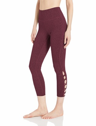 Core 10 High Waist Lattice 7/8 Crop Legging-24 Yoga Pants