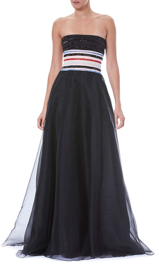 9266be310fdb Carolina Herrera Strapless Dresses - ShopStyle