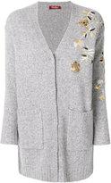 Max Mara embroidered V-neck cardigan