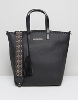 Silvian Heach Tote Bag With Embroidered Strap