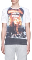 Tim Coppens Volcano print T-shirt