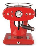 Francis Francis for Illy X1 Ground Coffee Machine, Red by Francis Francis by illy