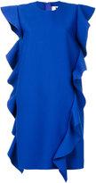 MSGM ruffle sleeveless dress - women - Polyester/Spandex/Elastane/Viscose - 42