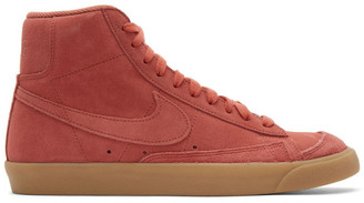 Nike Red Suede Mid77 Sneakers