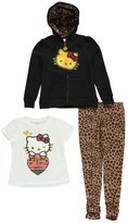 "Hello Kitty Little Girls' Toddler ""Kitty Wink"" 3-Piece Outfit"