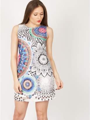 M&Co Izabel sleeveless printed shift dress