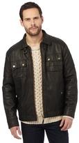 Mantaray Brown Biker Jacket
