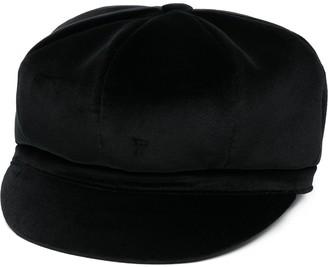 Dolce & Gabbana Velvet Baker Boy Hat