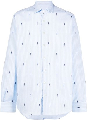 Etro Woodpecker Slim-Fit Shirt